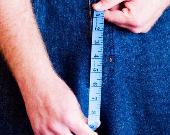 Толщина и диаметр члена - статистика как увеличить длину окружности