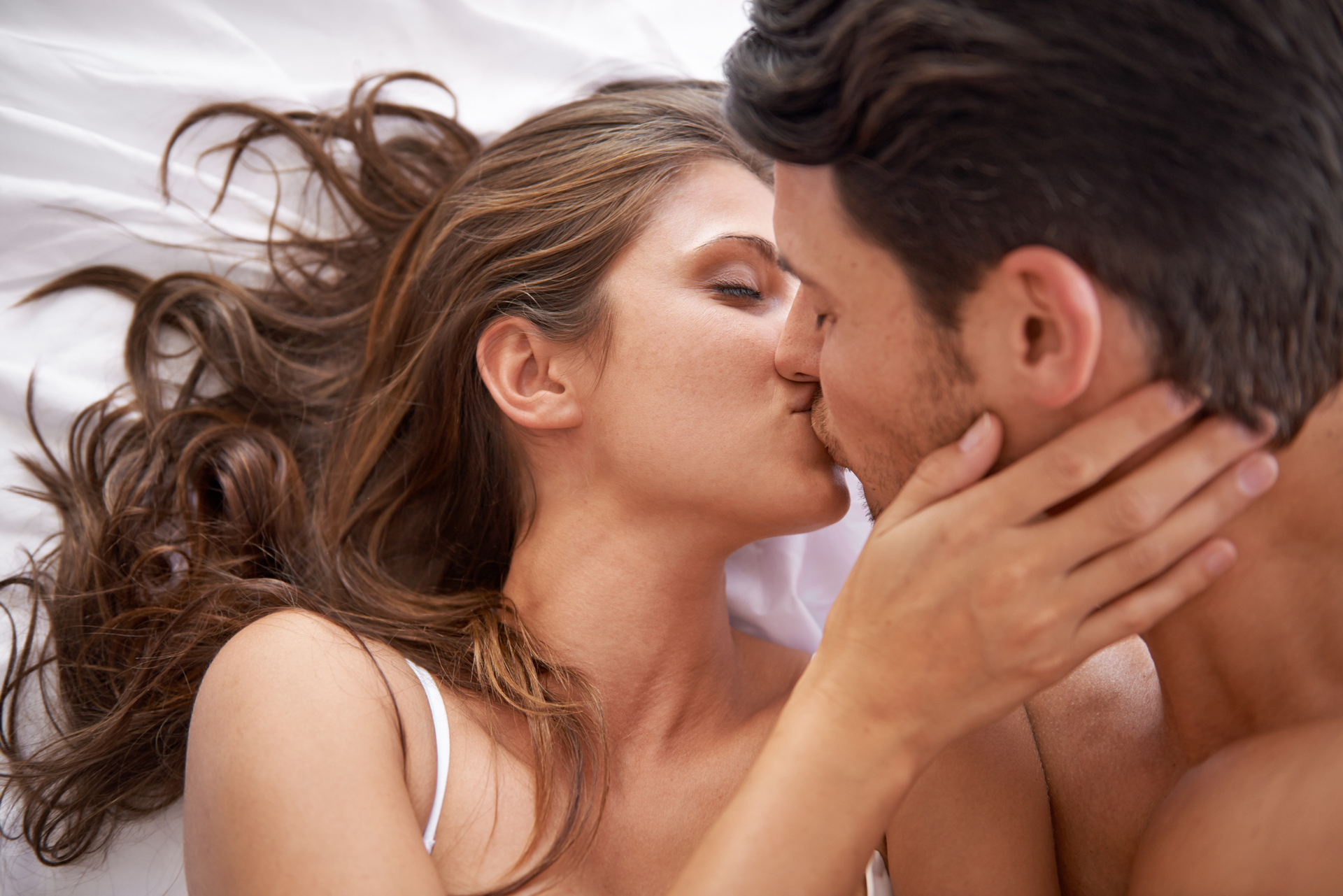 Erotic moments orgasm love story sexy stock photo
