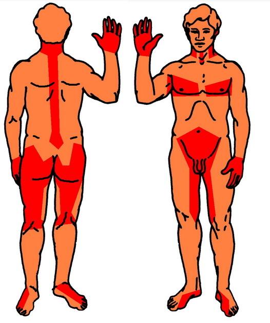 Эрогенные зоны мужчины в картинках