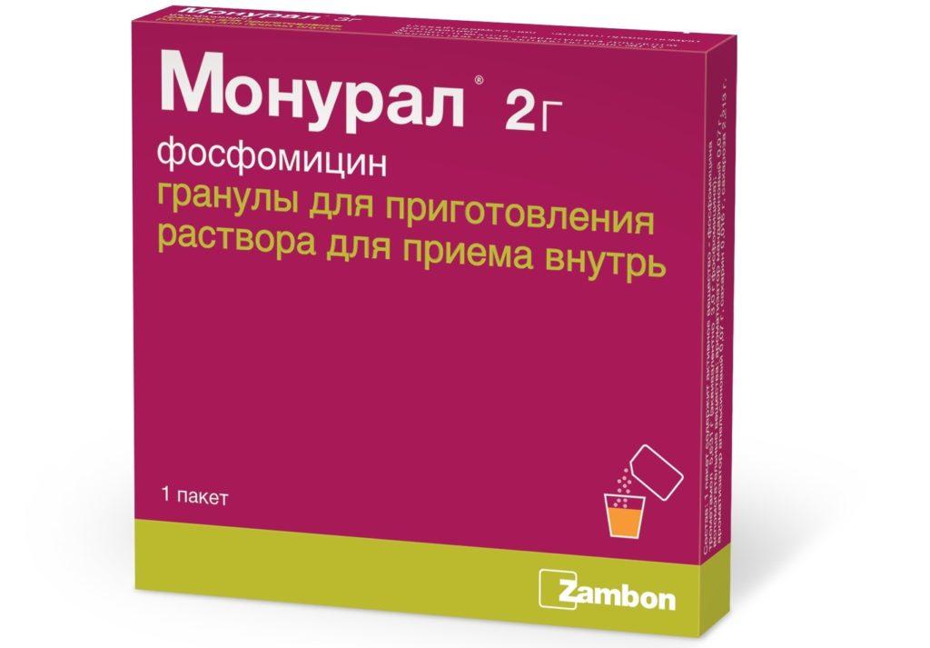 Монурал для лечения простатита простатит в попе
